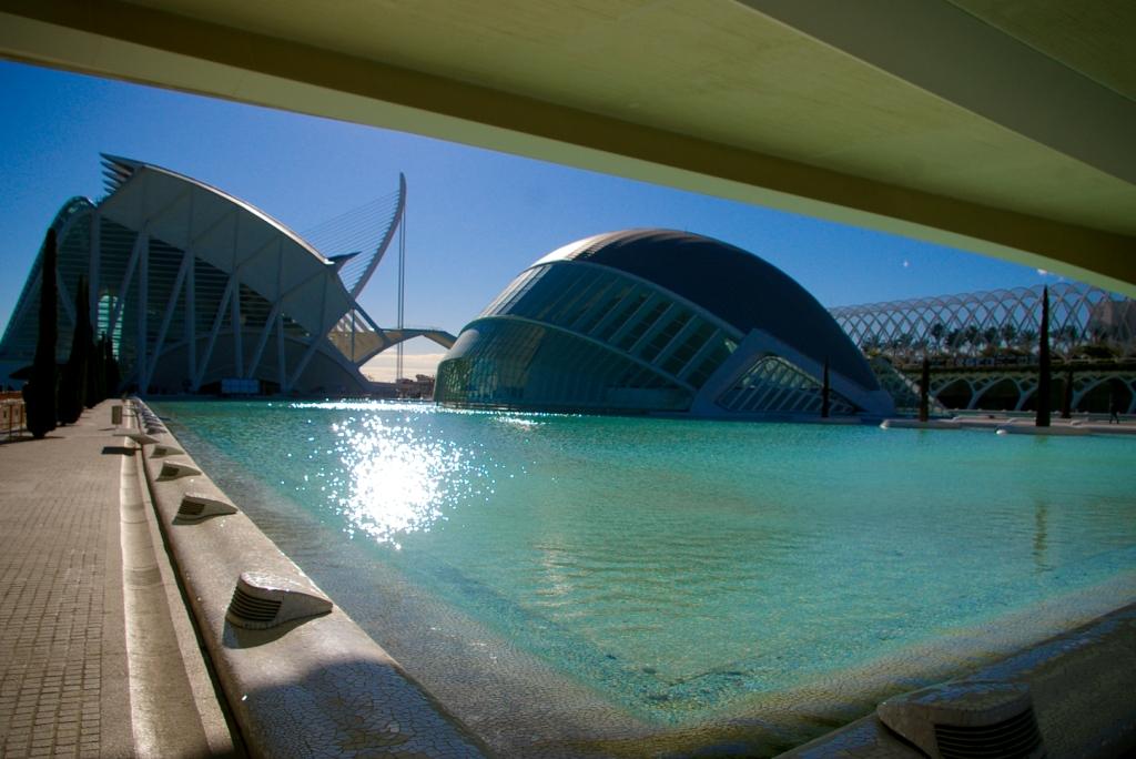 Valencia cité des arts et des ciences