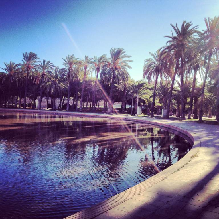 Valencia jardins Turia