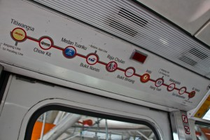 Malaisie Metro Kuala lumpur