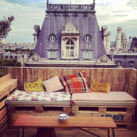 le perchoir ouvre son rooftop au bhv marais bambi paris. Black Bedroom Furniture Sets. Home Design Ideas