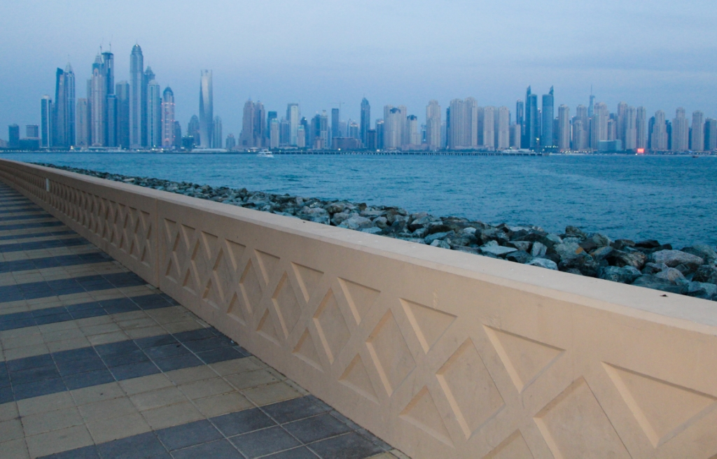 Dubai marina bay