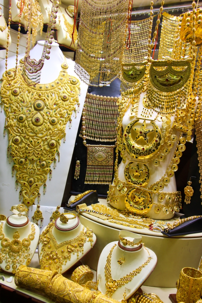 souk or gold Dubai