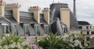 La terrasse secrète de l'été : restaurant le W / hôtel Warwick Champs-Elysées