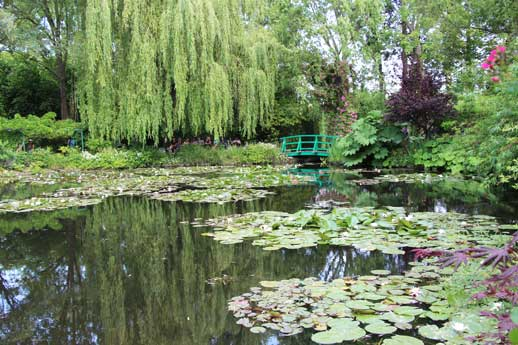 Les jardins de giverny et la fondation claude monet for Jardin giverny