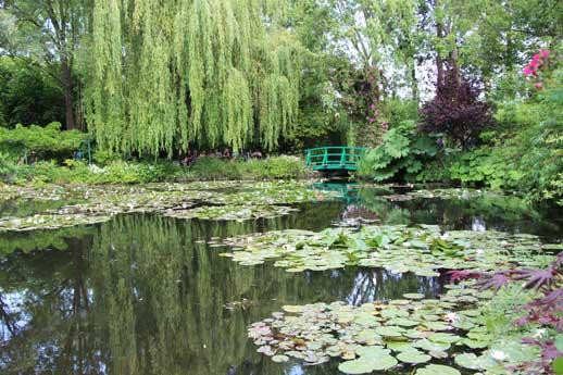 Les jardins de giverny et la fondation claude monet for Jardins de monet a giverny