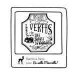 Les Manifestos du blog En selle Marcelle – Graphic Design by Bambi à Paris
